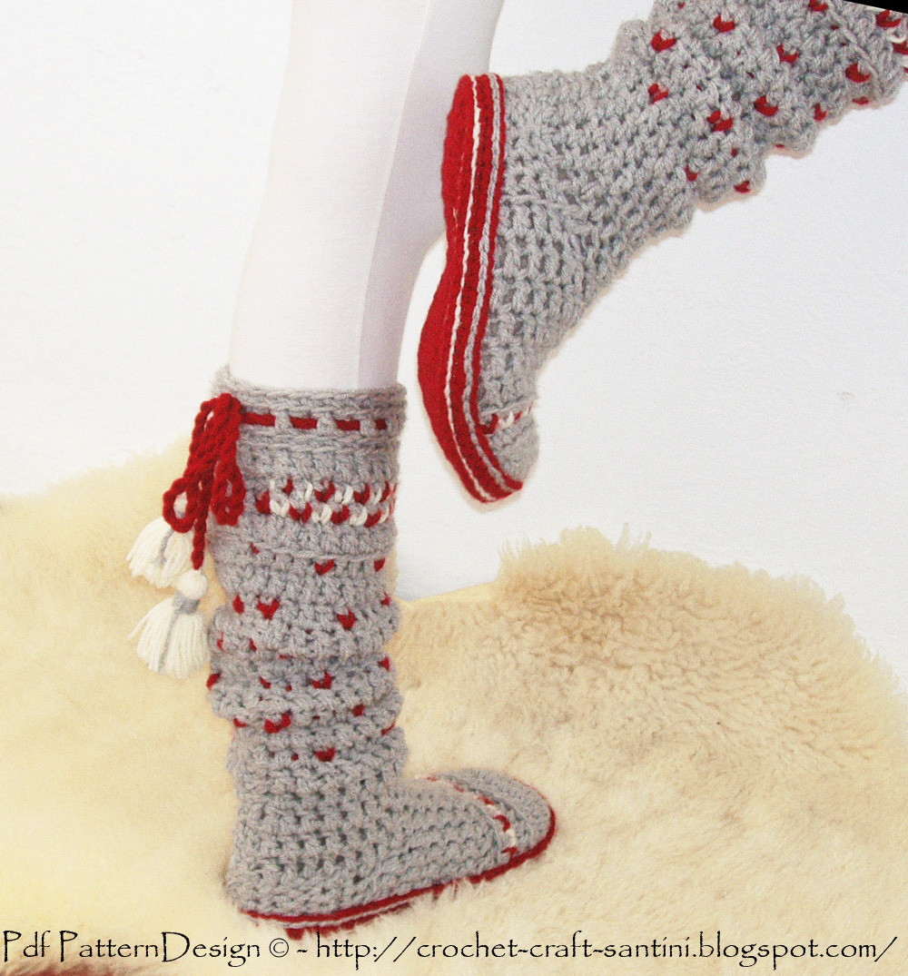 Elegant Protective Crochet soles for socks and Slippers Crochet Slippers with soles Of New 43 Photos Crochet Slippers with soles