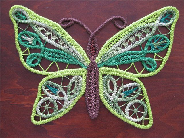 Elegant Purple and Green Rpl butterfly Romanian Point Lace which Irish Crochet Lace Of Wonderful 42 Images Irish Crochet Lace
