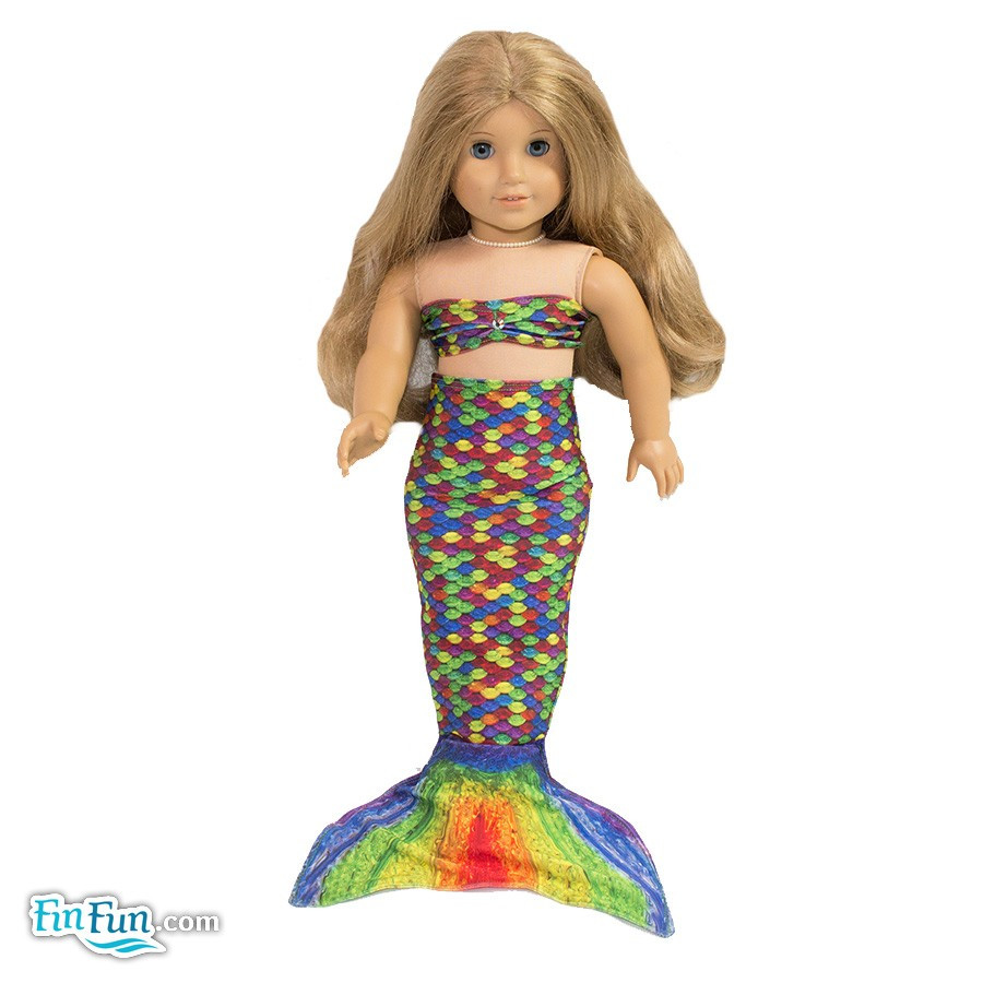 Elegant Rainbow Reef Doll Tail and top Mermaid Tails for Dolls Of Amazing 41 Photos Mermaid Tails for Dolls