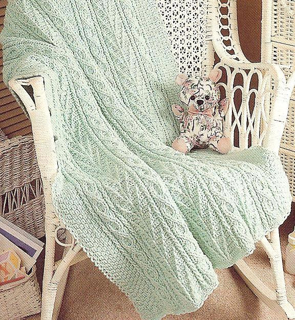 Elegant Rare Aran Fisherman Baby Afghans Crochet Patterns Htf Aran Crochet Afghan Pattern Of Gorgeous 41 Pics Aran Crochet Afghan Pattern