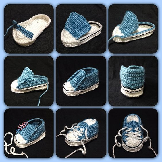 Elegant Ravelry Project Gallery for Crochet Baby Converse Pattern Crochet Converse Baby Booties Of Wonderful 41 Models Crochet Converse Baby Booties