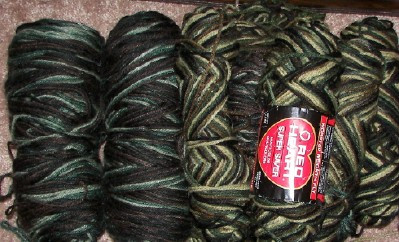 Red Heart Camo yarn for sale