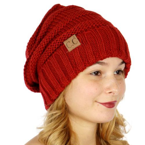 Elegant Red Slouchy Knit Cc Beanie Hat Red Slouchy Beanie Of New 50 Models Red Slouchy Beanie