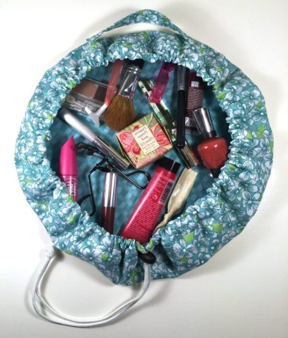 Sew Easy Drawstring Cosmetic Bag