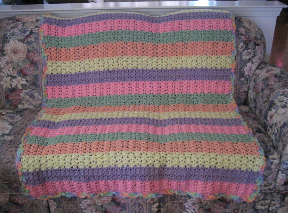 Elegant Shell Stitch Variation Afghan Shell Afghan Pattern Of Innovative 43 Pictures Shell Afghan Pattern