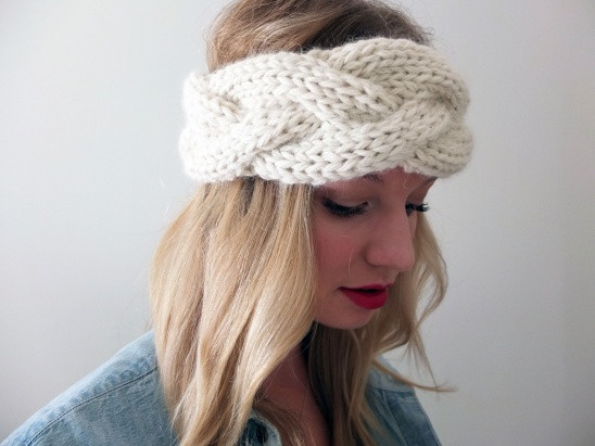 Simcoe Braided Headband by Tracing Threads