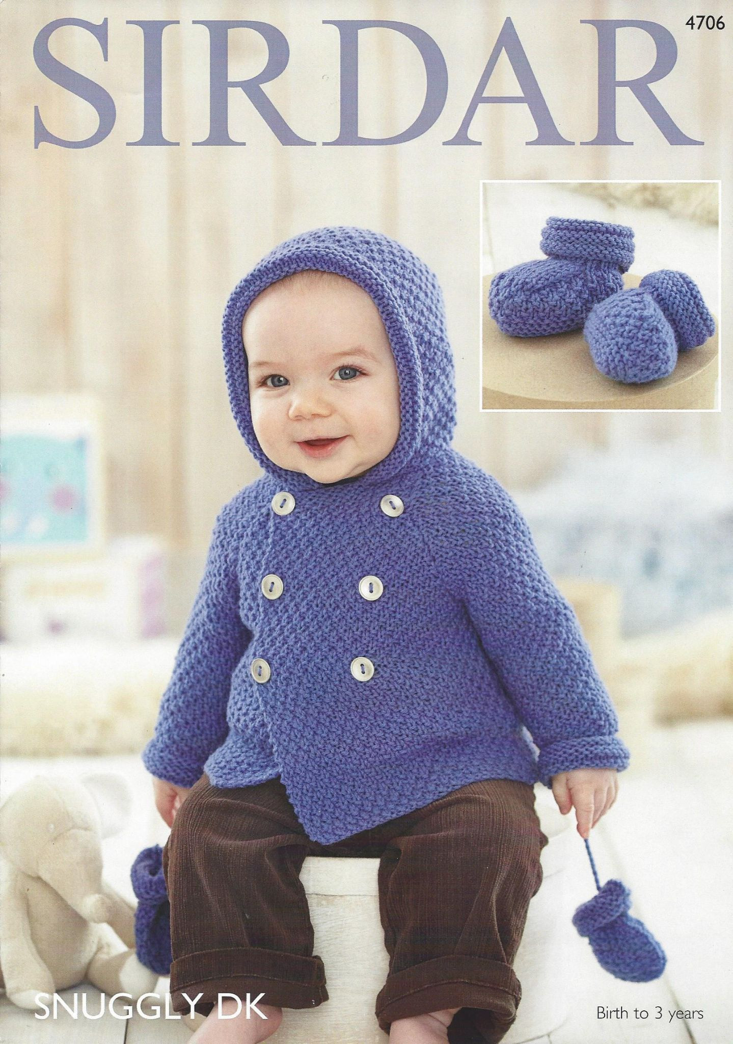 Elegant Sirdar Snuggly Dk 4706 Baby Boy S Coat Mittens & Botees Baby Boy Patterns Of Contemporary 48 Models Baby Boy Patterns