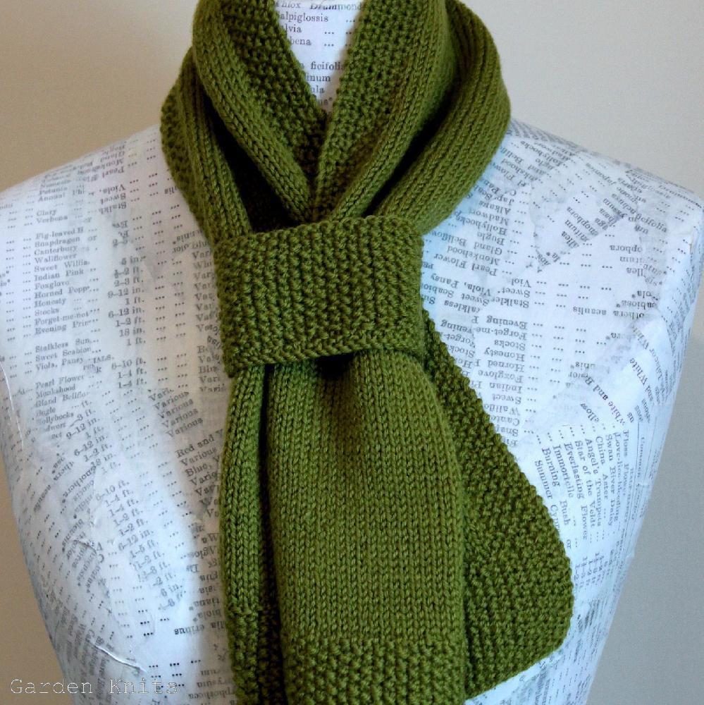 Elegant Six Simple Scarves Knitting Pattern by Garden Knits Simple Scarf Knitting Patterns Of Amazing 49 Models Simple Scarf Knitting Patterns
