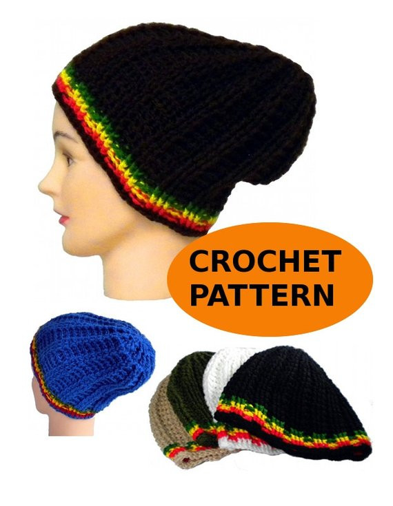 Elegant Skull Fit Ribbed Hat Crochet Pattern Beanie with Rasta Rasta Hat Crochet Pattern Of Incredible 43 Pictures Rasta Hat Crochet Pattern