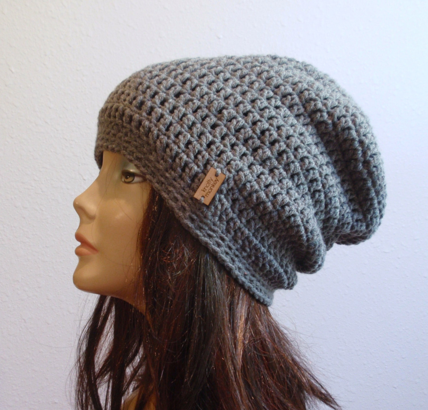 Elegant Slouchy Beanie Gray Hat Crochet Slouch Beanie Womens Grey Womens Crochet Beanie Of Perfect 44 Photos Womens Crochet Beanie