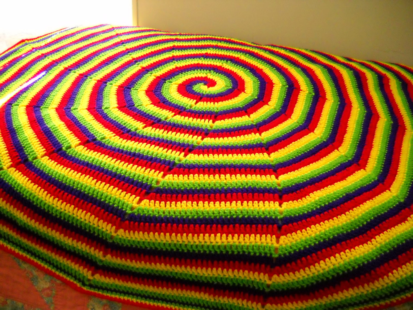 Elegant Smoothfox Crochet and Knit Testers Of Fox S Four Crochet Spiral Blanket Of Amazing 49 Models Crochet Spiral Blanket