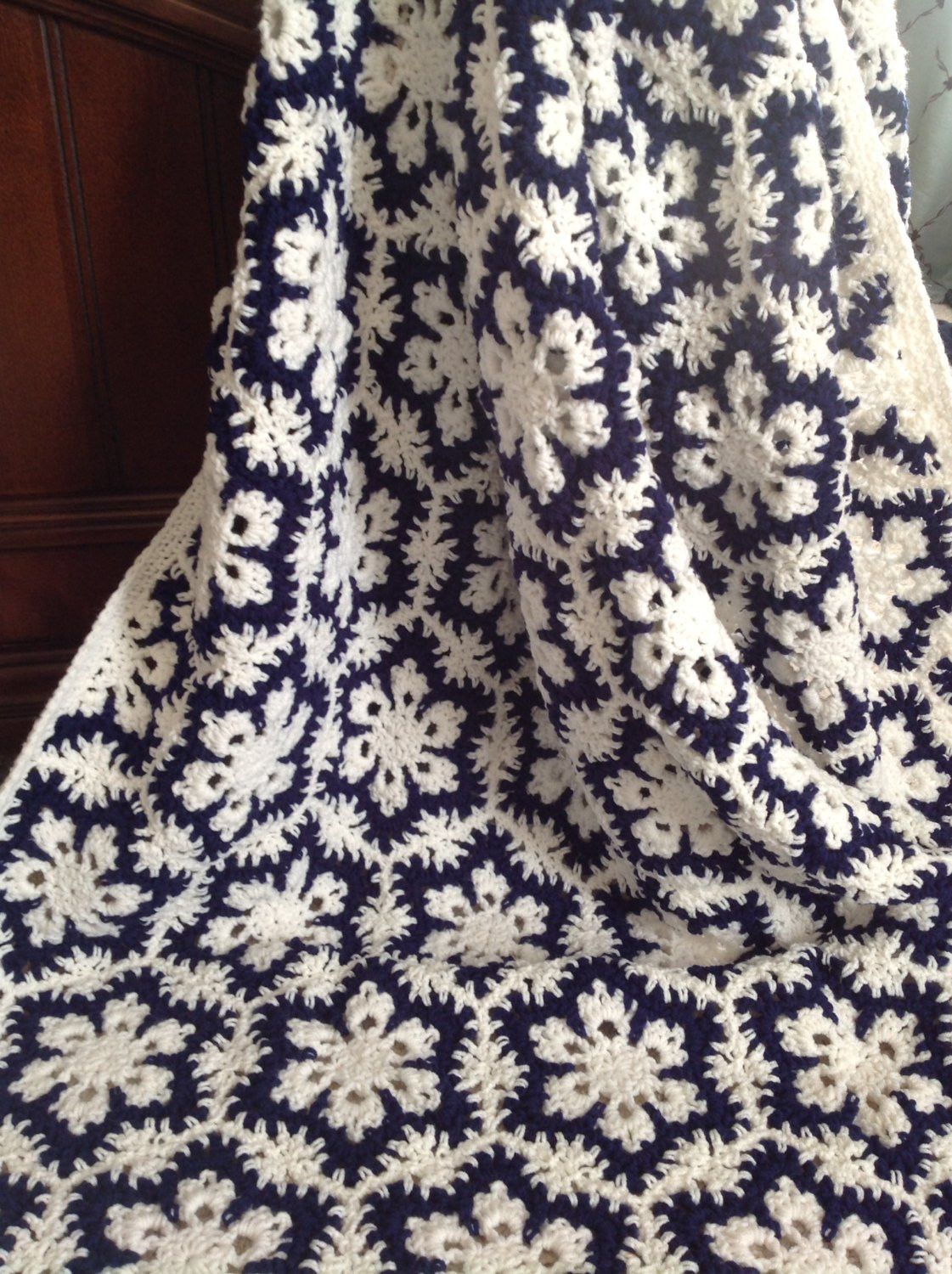 Elegant Special order for Creigh11 Gorgeous Crocheted Snowflake Afghan Snowflake Blanket Of Lovely 50 Models Snowflake Blanket