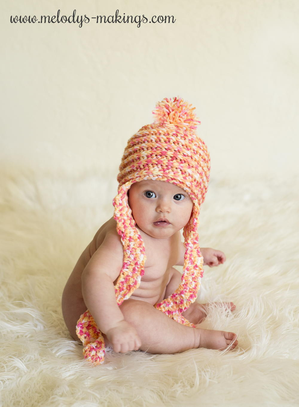Elegant Spins and Ridges Earflap Crochet Baby Hat Crochet Baby Girl Hat Of Contemporary 45 Pics Crochet Baby Girl Hat