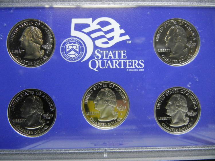 Elegant State Proof Quarter Sets From 2003 to 2008 State Quarter Proof Set Of Top 48 Images State Quarter Proof Set