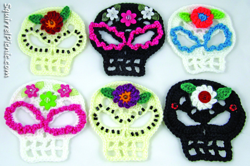 Elegant Sugar Candy Skull Crochet Pattern Crochet Sugar Skull Of Incredible 47 Pictures Crochet Sugar Skull