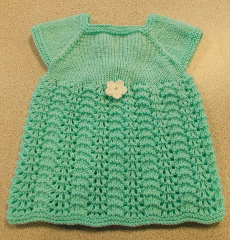 Elegant Sweet Summer Knit Baby Dress Baby Dress Knitting Pattern Of Amazing 40 Models Baby Dress Knitting Pattern