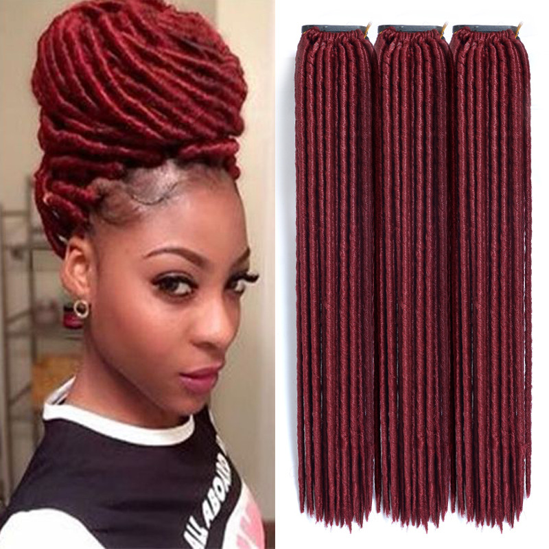 Elegant Synthetic Dreads Black Reviews Line Shopping Synthetic Burgundy Faux Locs Crochet Of Beautiful 41 Models Burgundy Faux Locs Crochet