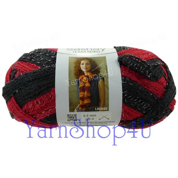 Elegant Team Spirit Red Black Red Heart Yarn Sashay Colors Ruffle Lace Team Colors Yarn Of Top 44 Photos Team Colors Yarn