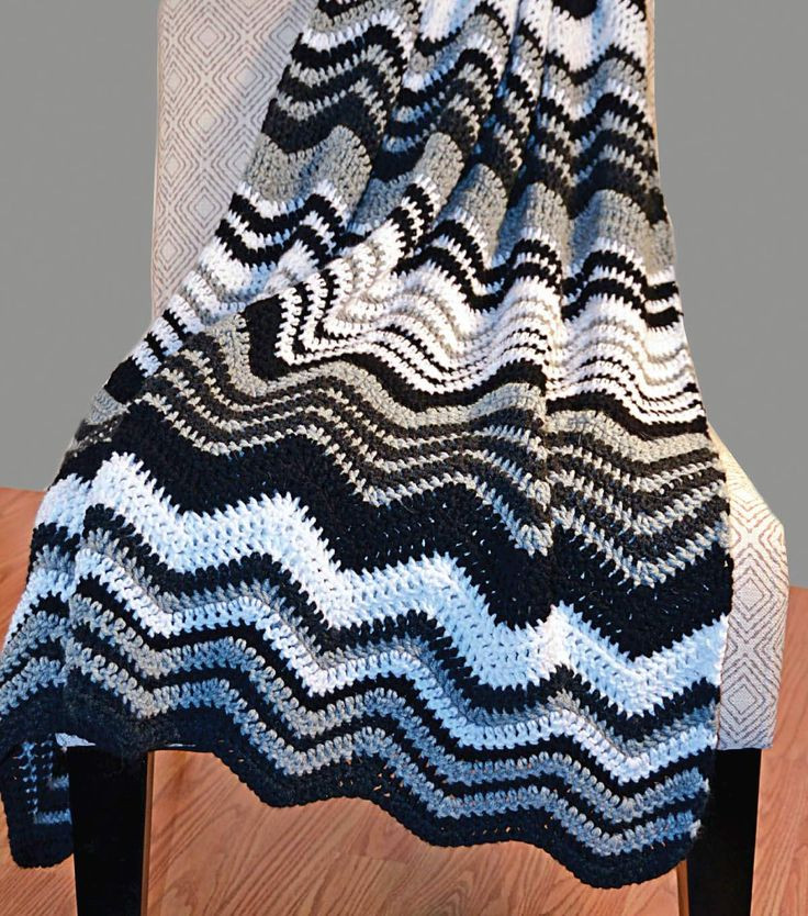 Elegant the 140 Best Images About Crochet Afghans Ripple On Free Chevron Crochet Pattern Of Top 49 Models Free Chevron Crochet Pattern