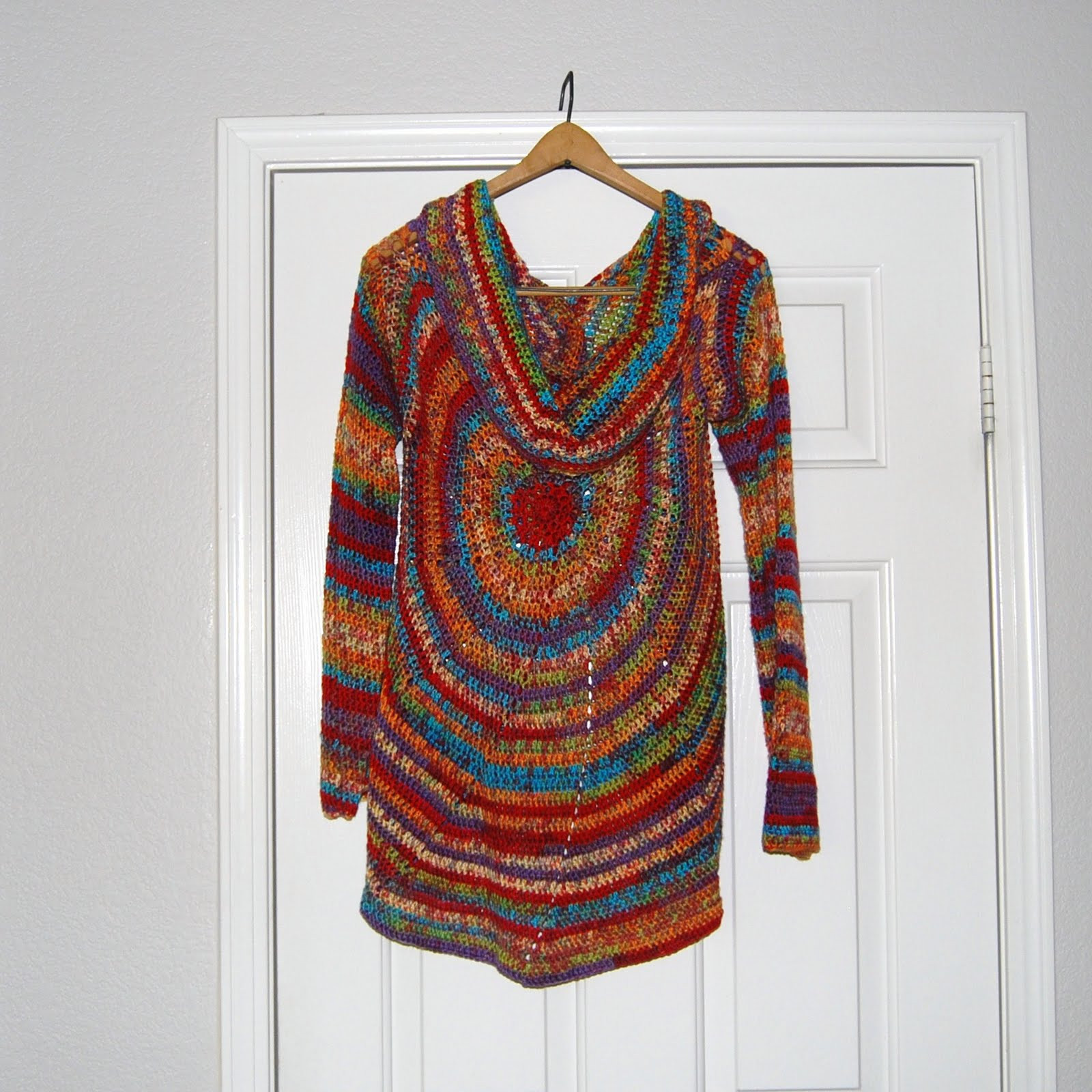 The Laughing Willow My version of the pinwheel sweater