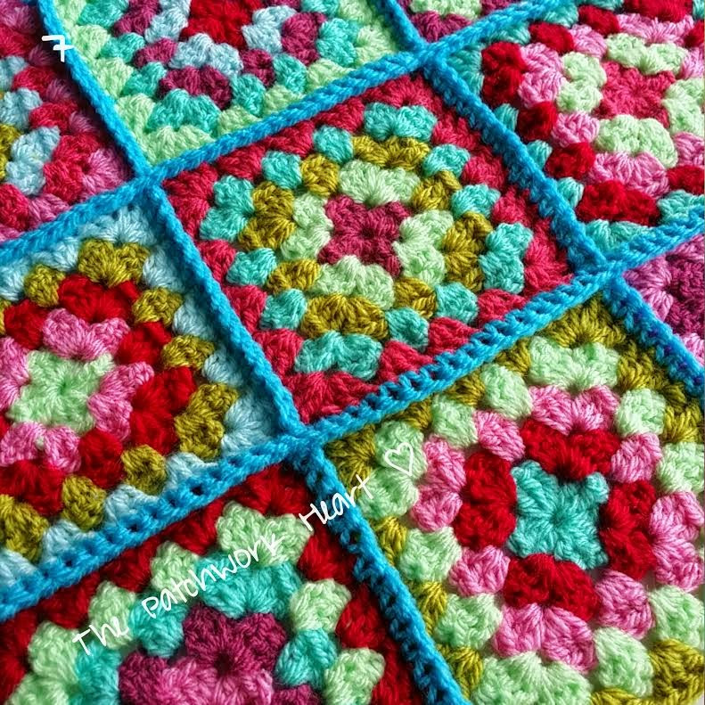 Elegant the Patchwork Heart Joining Squares Method 1 Crochet Crochet Squares together Of Lovely 43 Ideas Crochet Squares together