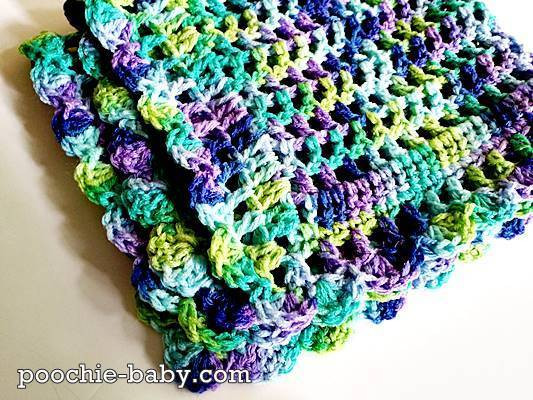 """The pattern for this """"one skein"""" blanket is now available"""