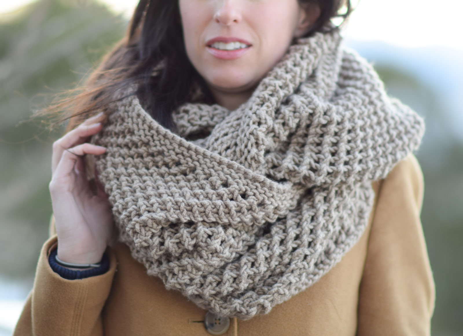 The Traveler Knit Infinicowl Scarf Pattern – Mama In A Stitch