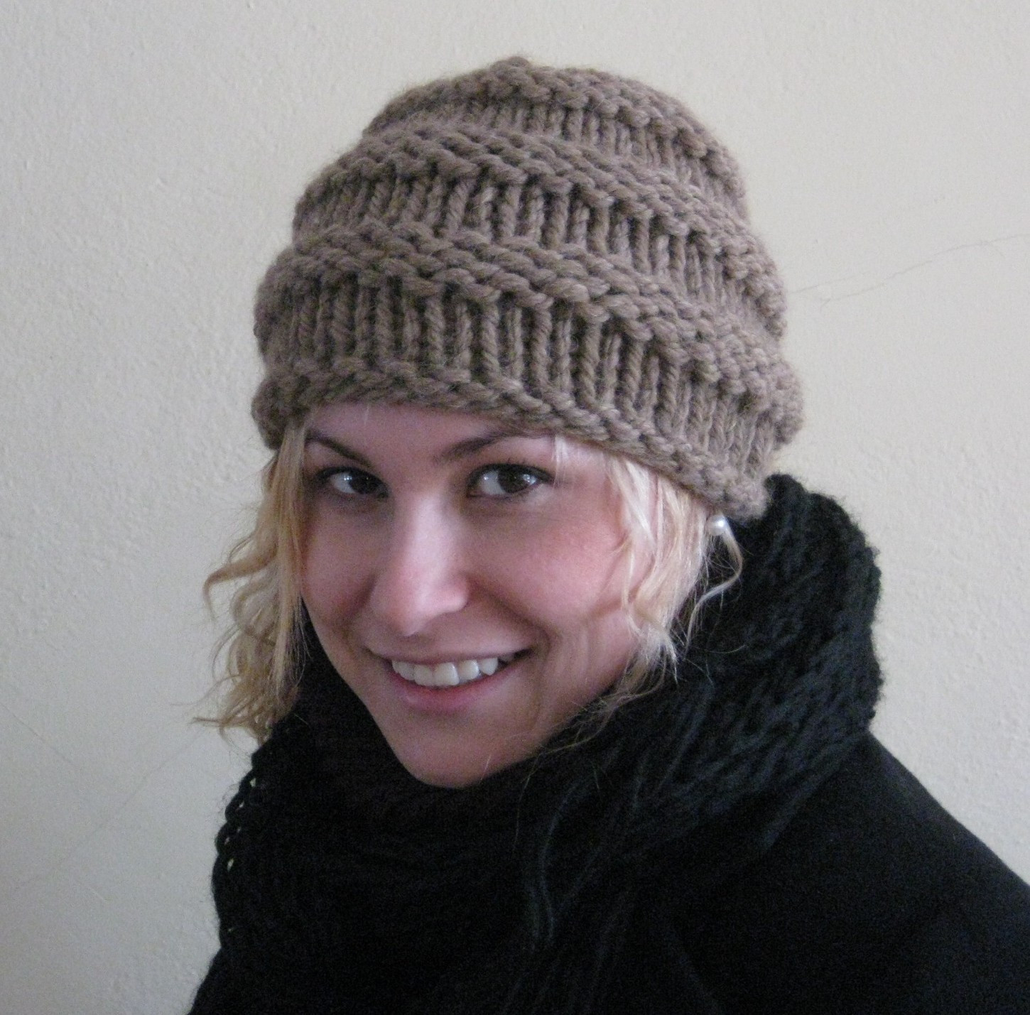 Elegant the Yarn Princess the New Quick and Easy Ribbed Hat Easy Knit Hat Of Brilliant 47 Pictures Easy Knit Hat