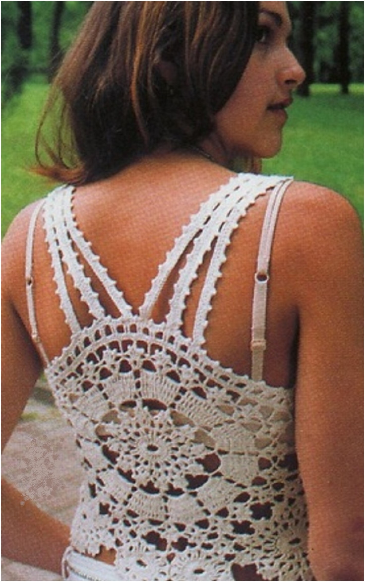 Elegant top 10 Light and Airy Crocheted Summer tops top Inspired Crochet Blouse Of Superb 46 Models Crochet Blouse