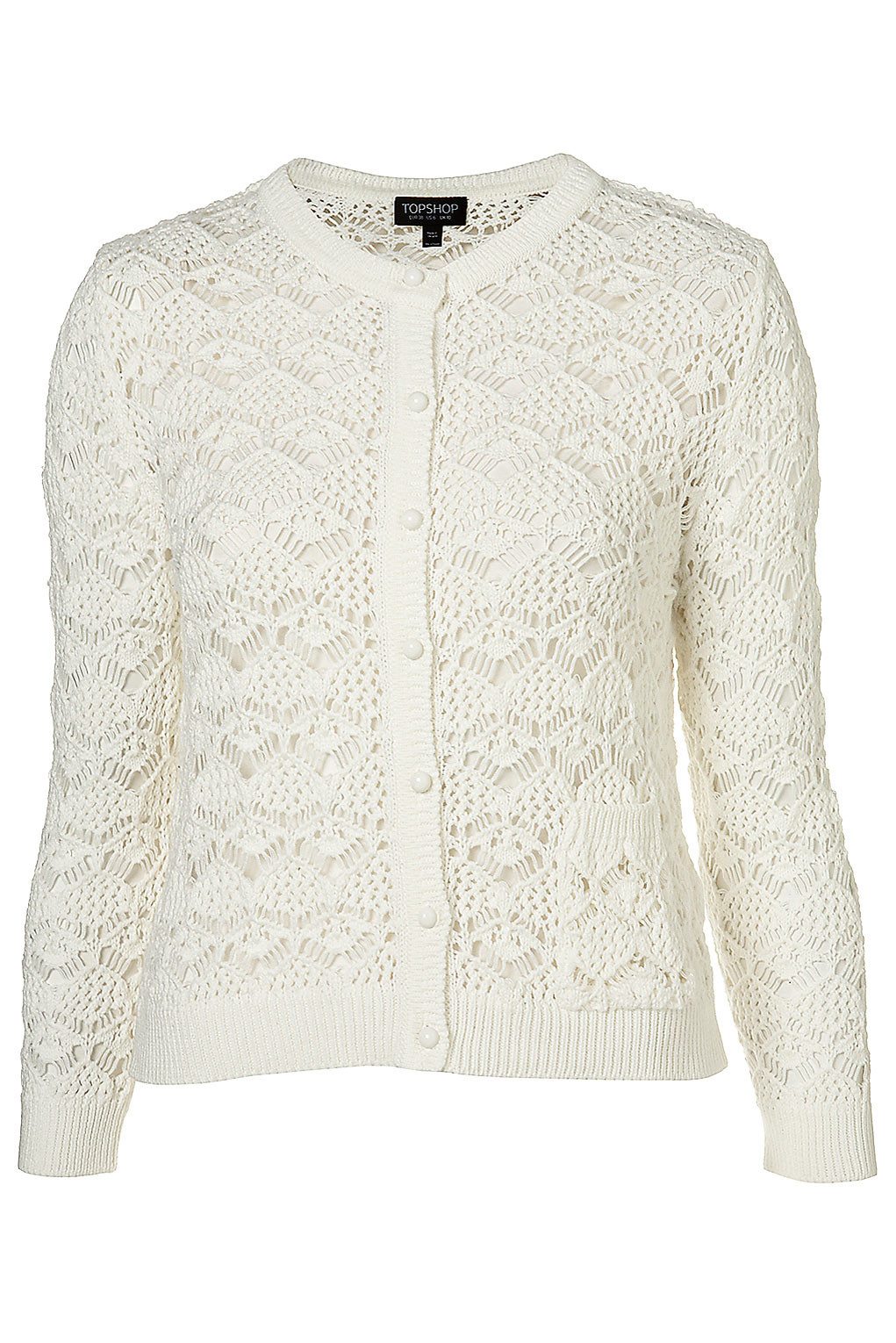 Elegant topshop Knitted F White Crochet Fifties Style Cardigan White Crochet Cardigans Of Delightful 41 Images White Crochet Cardigans