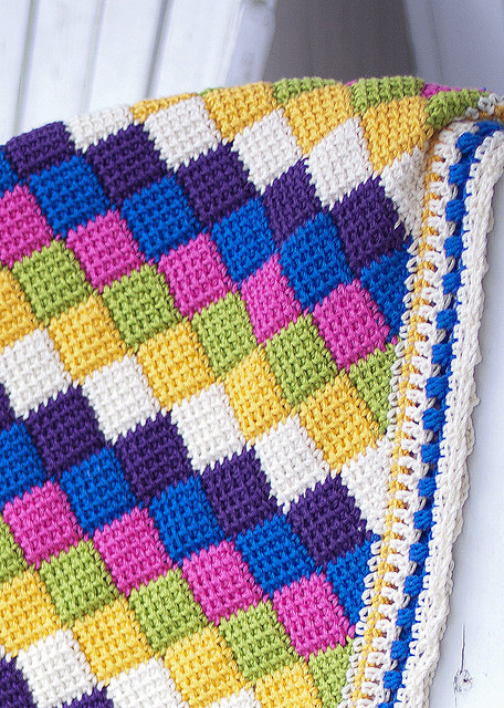 Elegant Tunisian Crochet Entrelac Patterns Tunisian Crochet Baby Blanket Of Brilliant 47 Ideas Tunisian Crochet Baby Blanket