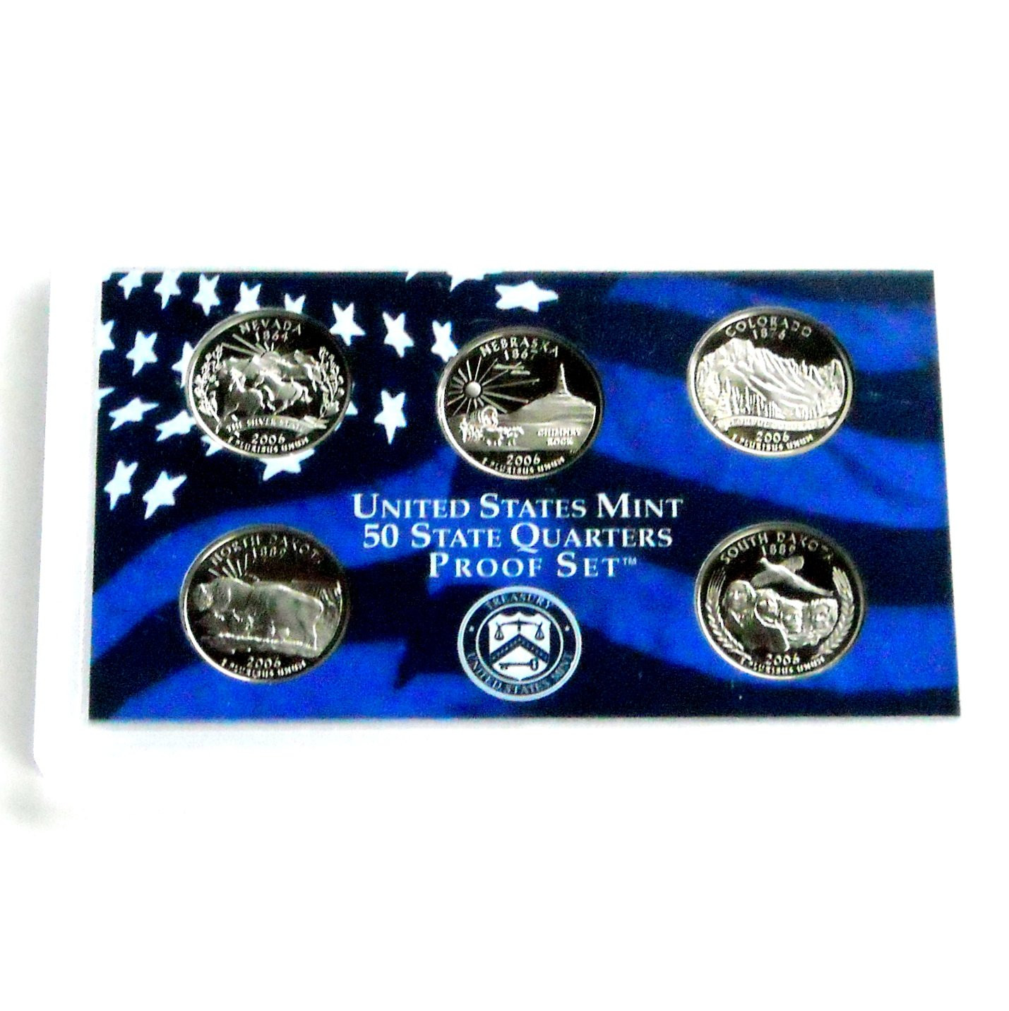 Elegant United States Mint 50 State Quarters Proof Set 2006 Us State Quarter Collection Of Charming 49 Ideas Us State Quarter Collection