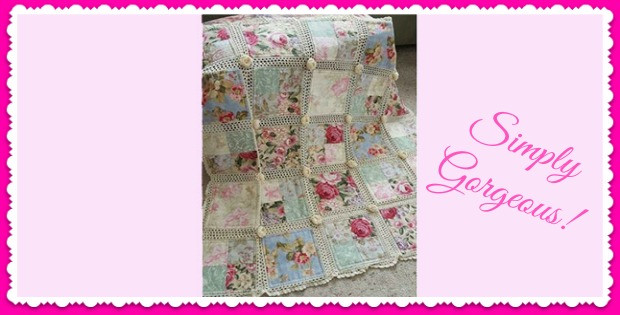 """Elegant Unusual Quilting """"stuff"""" Archives Crochet and Fabric Quilt Of Top 45 Models Crochet and Fabric Quilt"""