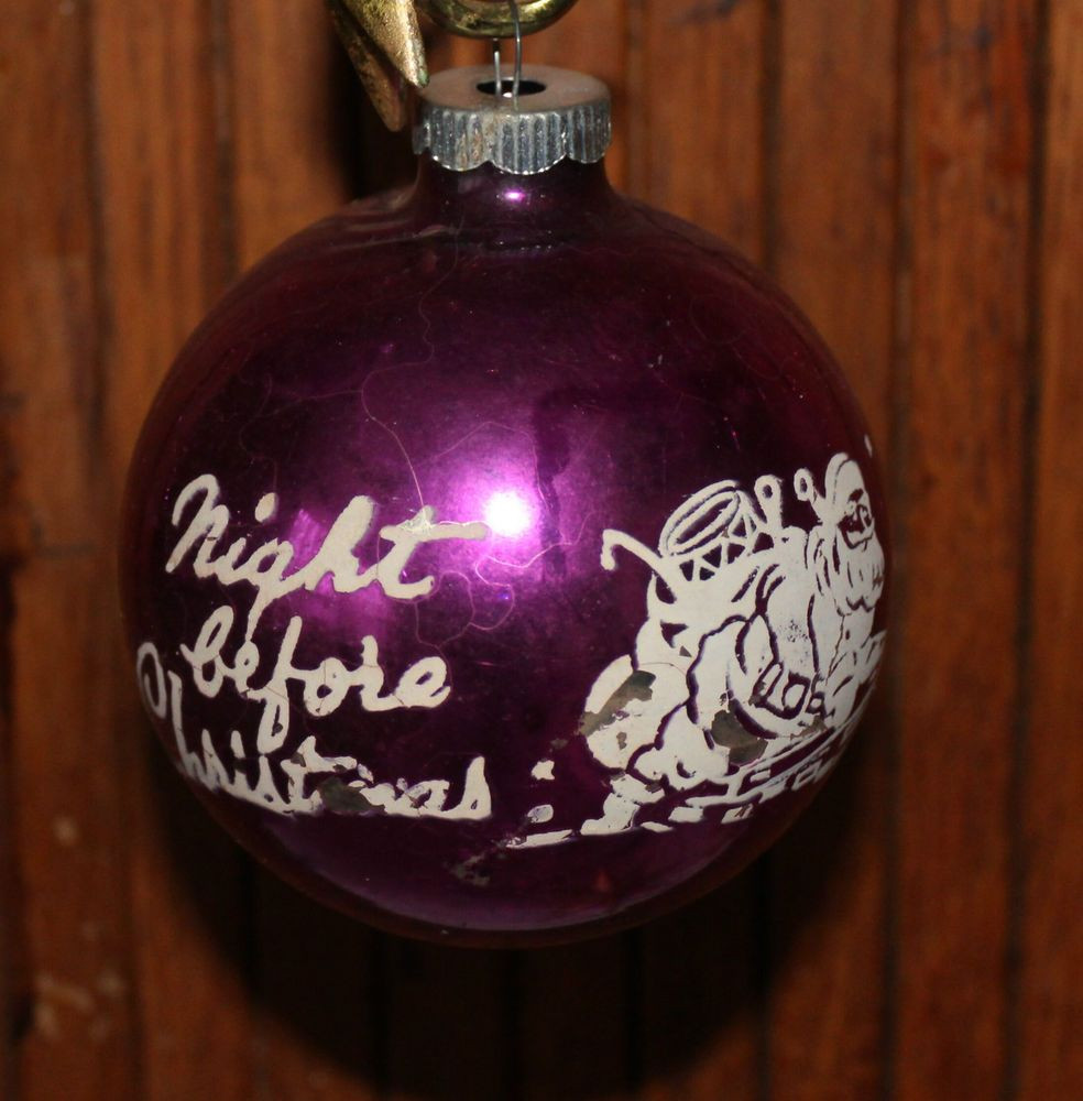 Elegant Vintage Antique Htf Xtra Large Night before Christmas Shiny Brite ornaments Vintage Of Marvelous 46 Models Shiny Brite ornaments Vintage