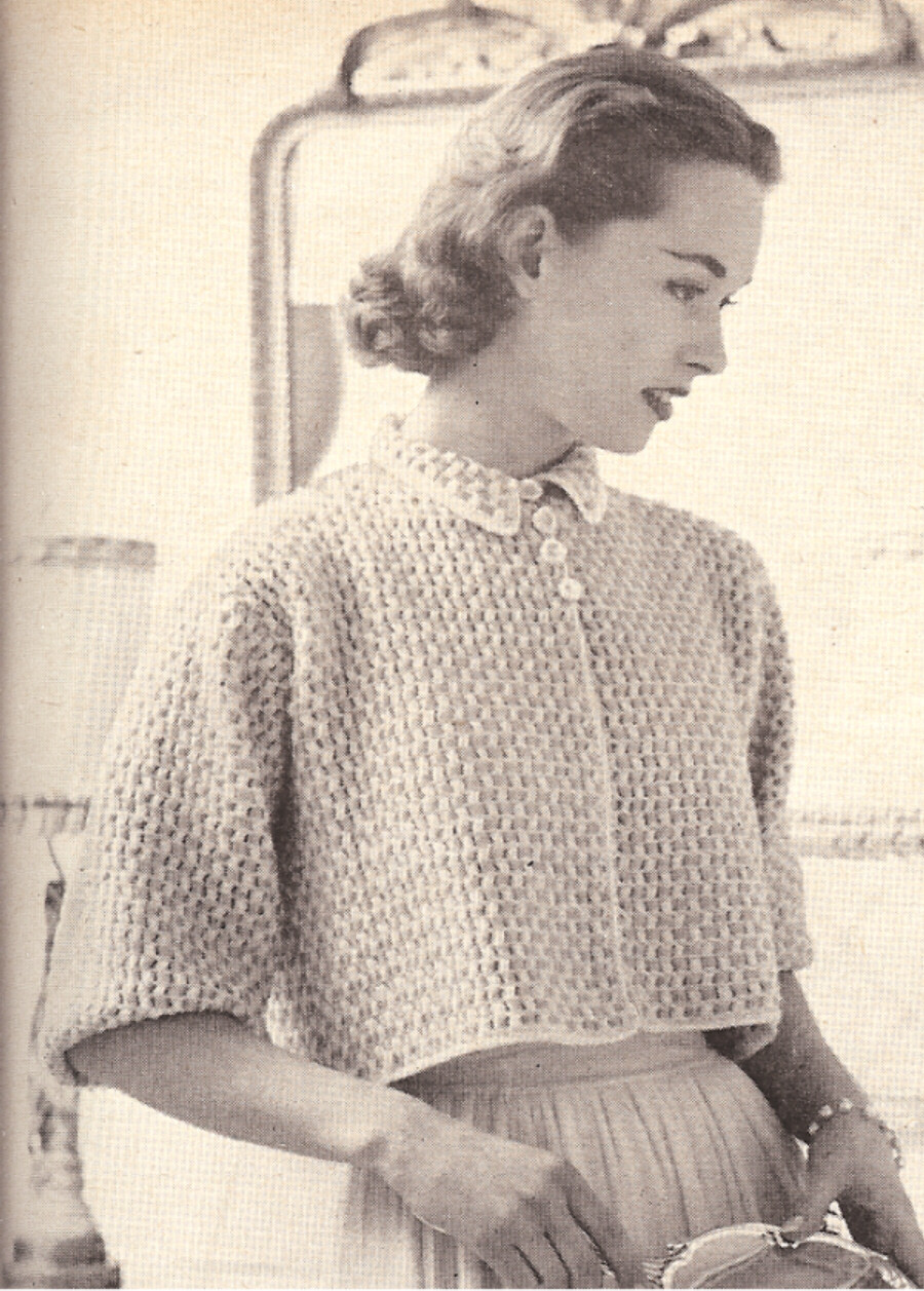 Elegant Vintage Crochet Pattern to Make Boxy Shorty Bed Jacket Vintage Crochet Patterns Of Attractive 43 Pictures Vintage Crochet Patterns