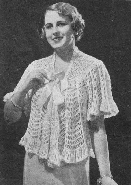 Elegant Vintage Crochet Patterns Available From the Vintage Bed Jacket Pattern Of Luxury 42 Ideas Bed Jacket Pattern