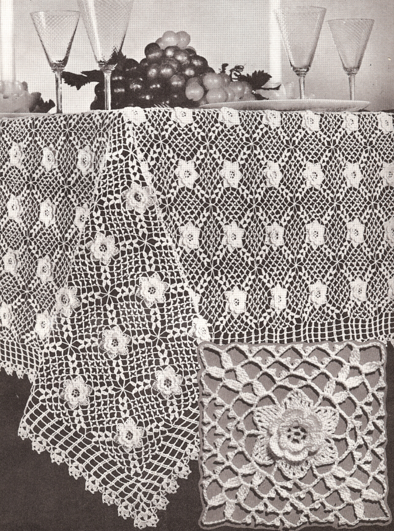 Elegant Vintage Crochet Tablecloth Patterns Vintage Crochet Of Perfect 44 Models Vintage Crochet