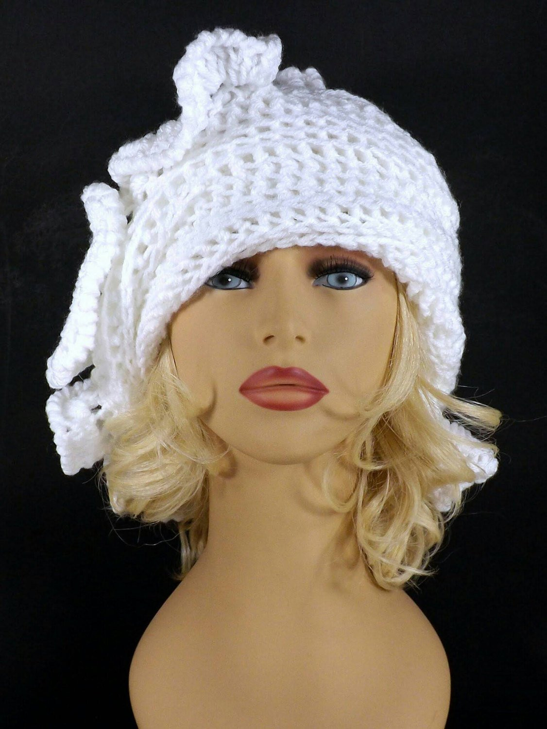 Elegant White Crochet Hat Womens Hat Trendy Womens Crochet Hat Womens Crochet Beanie Of Perfect 44 Photos Womens Crochet Beanie