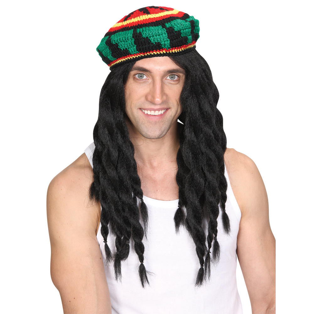 Elegant Wicked Costumes Thick Knitted Rastafarian Hat & Dreadlock Rasta Hat with Dreads Of New 32 Photos Rasta Hat with Dreads