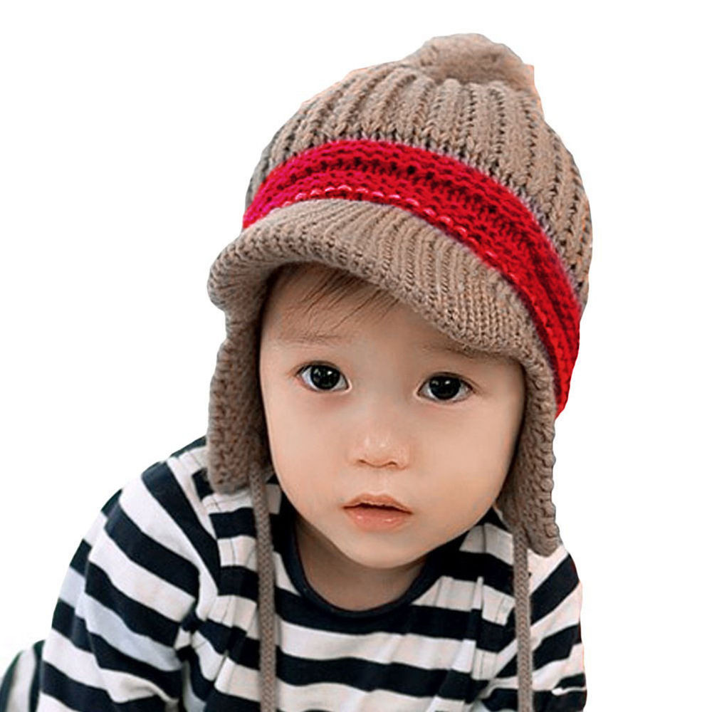 Elegant Winter Warm Girl Boy Baby Kid toddler Hats Rabbit Ear Flap Baby Hat with Ear Flaps Of Perfect 41 Pics Baby Hat with Ear Flaps