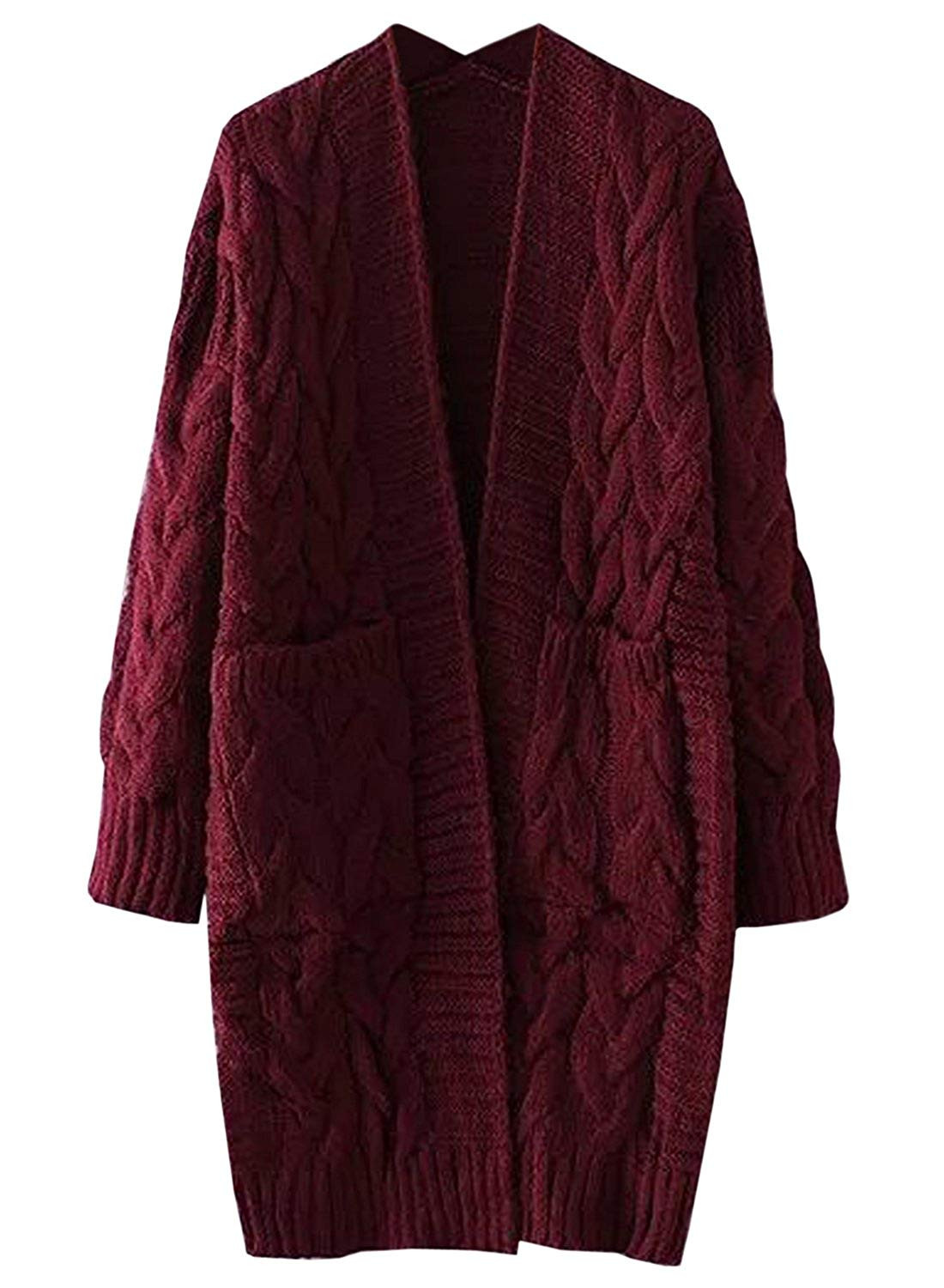 Elegant Women's Chunky Cable Knit Sweater Cable Knit Cardigan Sweater Of Wonderful 46 Models Cable Knit Cardigan Sweater