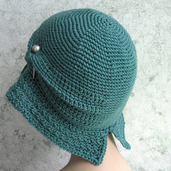 Elegant Womens Crochet Hat Pattern Flapper Cloche with Brim Crochet Hat with Brim Pattern Of Contemporary 46 Photos Crochet Hat with Brim Pattern