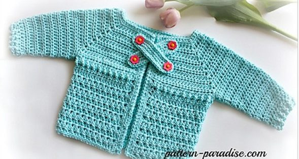 Elegant X Stitch Crocheted Baby Cardigan [free Crochet Pattern] Crochet Baby Sweater for Beginners Of Wonderful 41 Pictures Crochet Baby Sweater for Beginners