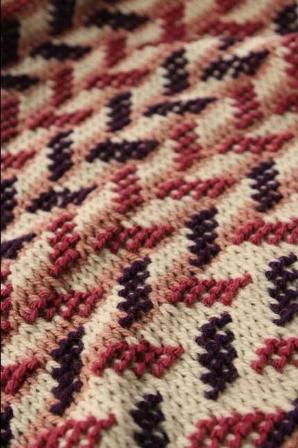 Elegant You Can Do It Two Color Tunisian Crochet In the Round Tunisian Crochet In the Round Of New 46 Models Tunisian Crochet In the Round