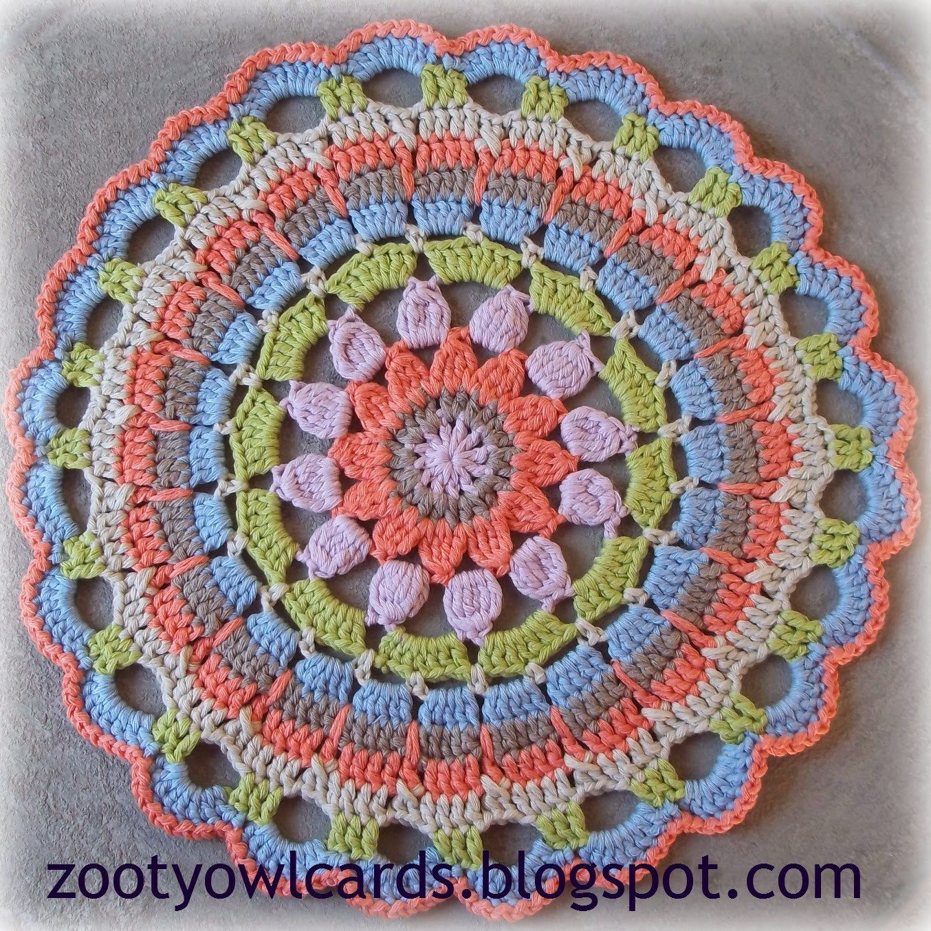 Elegant Zooty Owl S Crafty Blog Dahlia Mandala Pattern Mandala Crochet Patterns Of Beautiful 48 Pictures Mandala Crochet Patterns