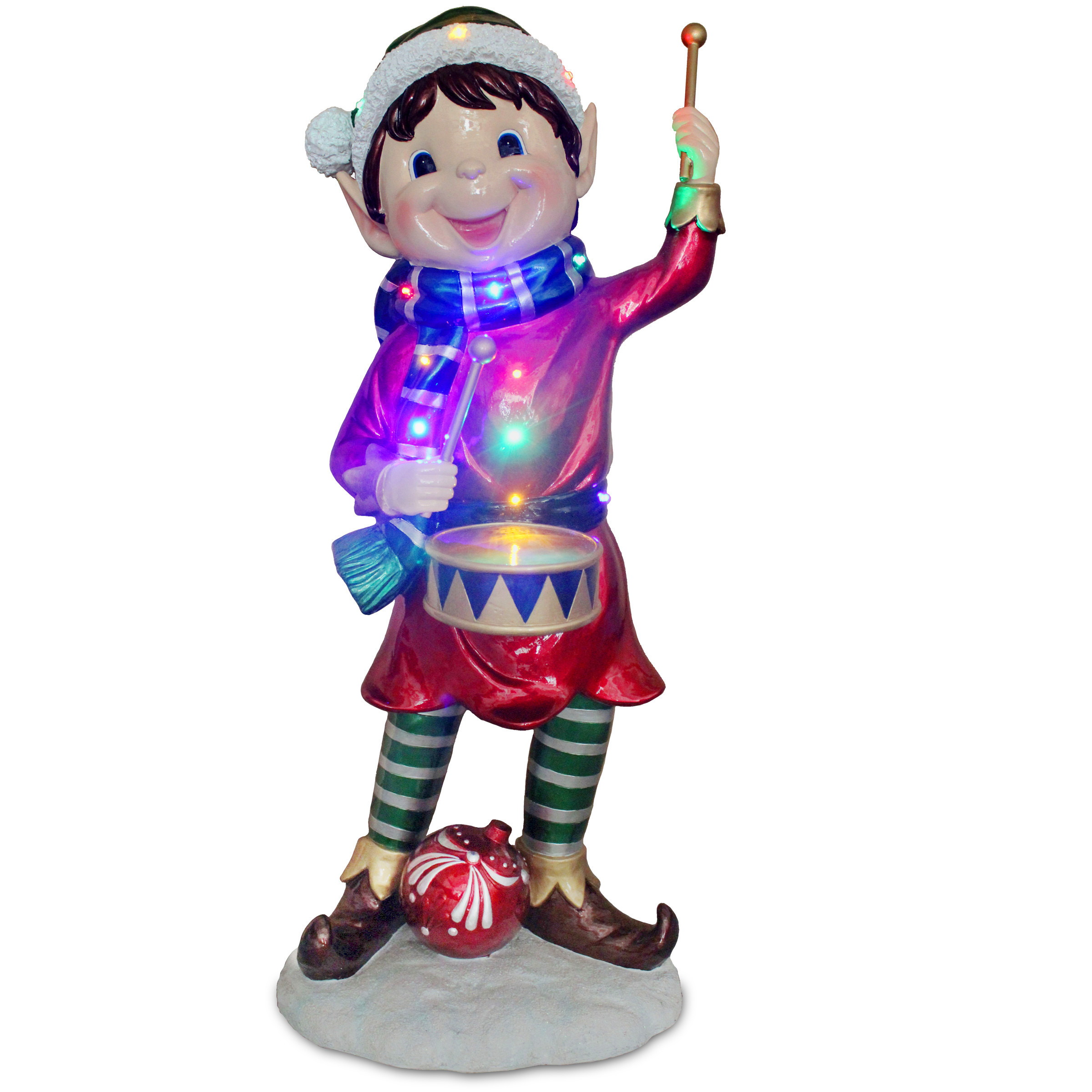 National Tree Co Pre Lit Pixie Elf Christmas Decoration