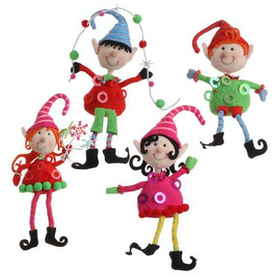 Elf Christmas ornaments Awesome 17 Best Images About Duendes De Navidad Mixtos On Of Top 47 Photos Elf Christmas ornaments