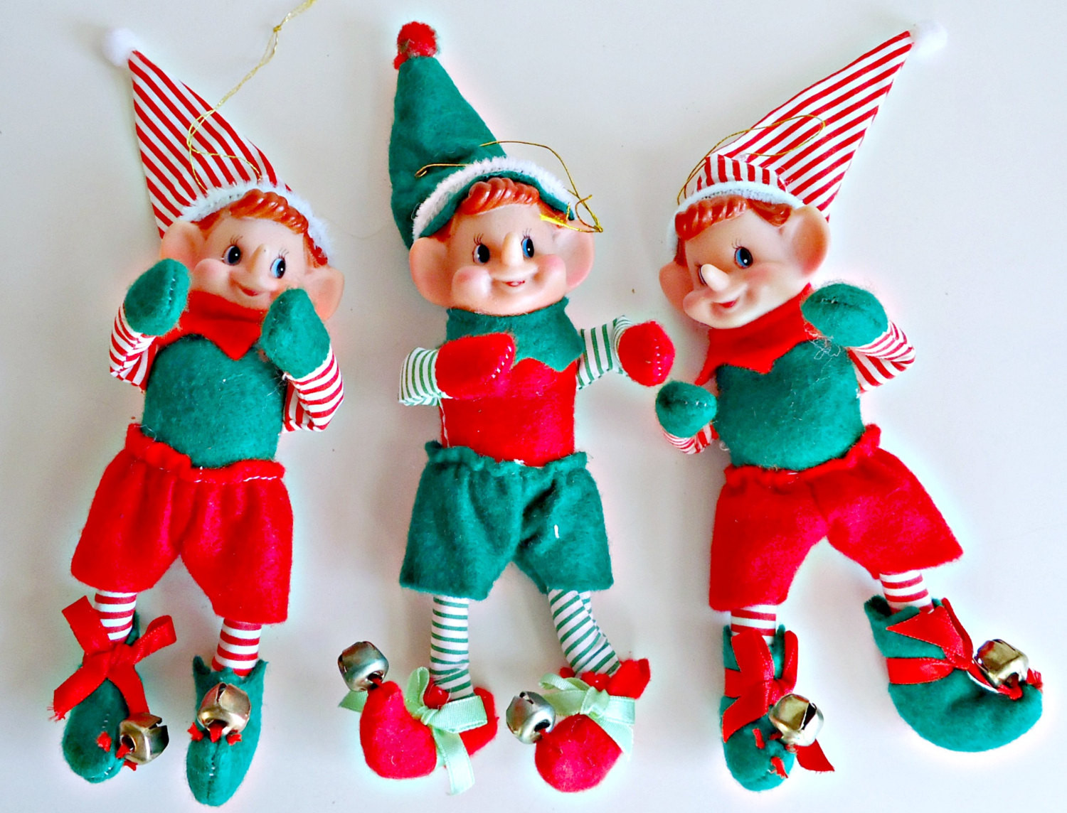 Elf Christmas ornaments Awesome 3 Vintage Christmas Elves Elf ornaments Christmas Decoration Of Top 47 Photos Elf Christmas ornaments