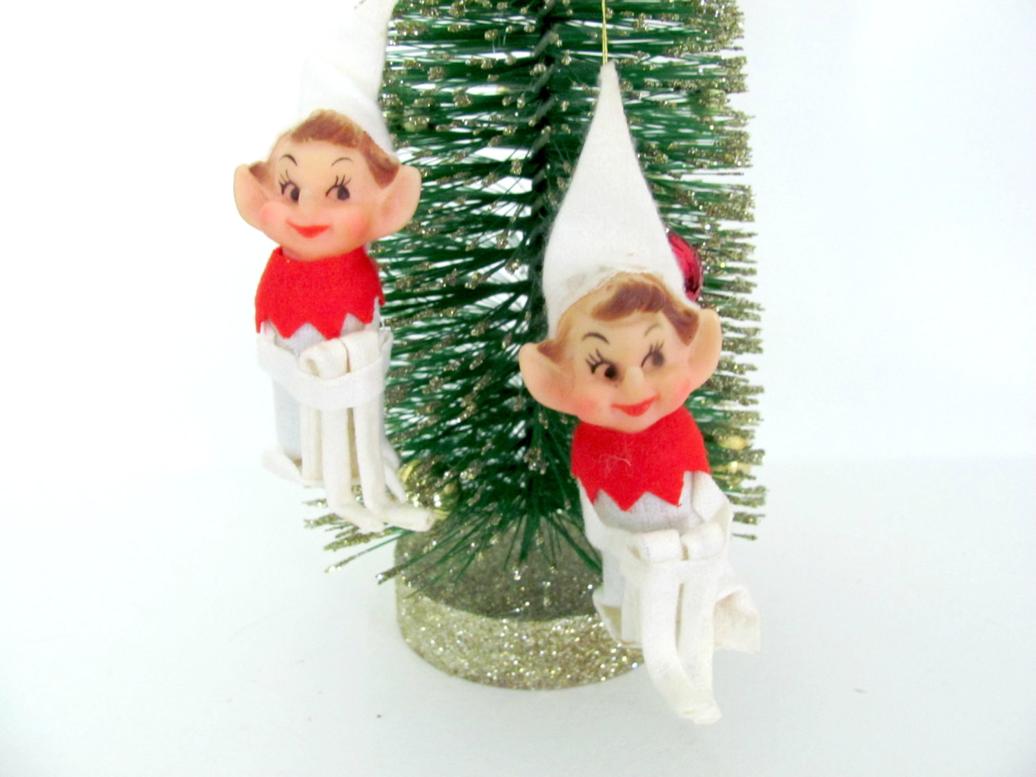Elf Christmas ornaments Awesome Vintage 1960 S Pixie Elf ornaments Christmas Tree Of Top 47 Photos Elf Christmas ornaments