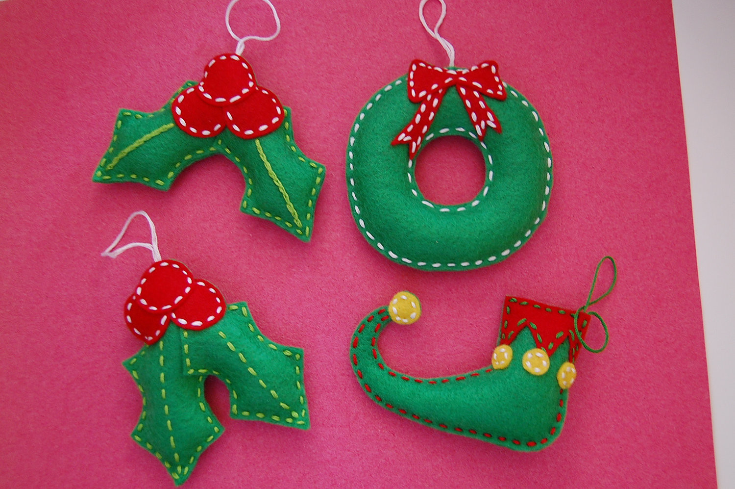 Elf Christmas ornaments New Felt Christmas ornaments Holly Elves Shoe and by Of Top 47 Photos Elf Christmas ornaments